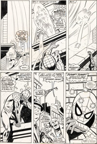 Sal Buscema and Mike Esposito Spectacular Spider-Man #3 Story Page 11 Original Art (Marvel, 1977)