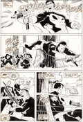 Original Comic Art:Story Page, Mike Zeck and John Beatty The Punisher (Limited Series) #4 ...