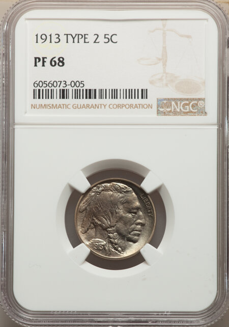 1913 5C Type Two, MS 68 NGC