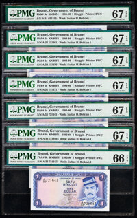 Brunei and Malaysia Group of 31 Graded Notes. ... (Total: 31 notes)