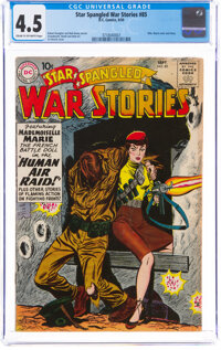 Star Spangled War Stories #85 (DC, 1959) CGC VG+ 4.5 Cream to off-white pages