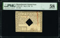 Colonial Notes:Massachusetts, Massachusetts May 5, 1780 $2 PMG Choice About Unc 58.. ...