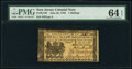 Colonial Notes:New Jersey, New Jersey June 22, 1756 1s PMG Choice Uncirculated 64 EPQ.. ...