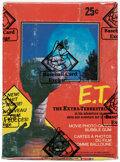 Non-Sport Cards:Unopened Packs/Display Boxes, 1982 O-Pee-Chee E.T. The Extra Terrestrial Unopened Wax Bo...