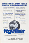 Movie Posters:Drama, Together & Other Lot (Hallmark Releasing Corp., 1971). Fol...