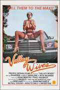 """Movie Posters:Adult, Valley Wives & Other Lot (Pacific Ocean Pictures, 1985). Folded, Overall: Fine+. One Sheet (25"""" X 38"""") & Video Poster (25"""" x... (Total: 2 Items)"""