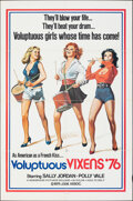 """Movie Posters:Adult, Voluptuous Vixens (Hemisphere Pictures, 1972). Folded, Fine/Very Fine. One Sheet (27"""" X 41""""). Adult.. ..."""