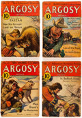 """Pulps:Adventure, Argosy - Complete """"Lost on Venus"""" Group of 7 (Munsey, 1933) Condition: Average FR/GD.... (Total: 7 Items)"""