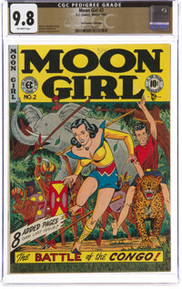 Moon Girl #2 The Promise Collection Pedigree (EC, 1947) CGC NM/MT 9.8 Off-white pages