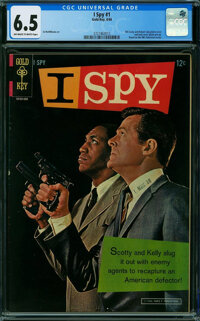 I Spy #1 (Gold Key, 1966) CGC FN+ 6.5 OFF-WHITE TO WHITE pages