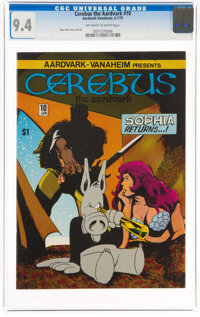 Cerebus the Aardvark #10 (Aardvark-Vanaheim, 1979) CGC NM 9.4 Off-white to white pages