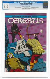 Cerebus the Aardvark #12 (Aardvark-Vanaheim, 1979) CGC NM+ 9.6 Off-white to white pages