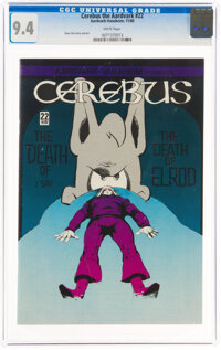 Cerebus the Aardvark #22 (Aardvark-Vanahem, 1980) CGC NM 9.4 White pages