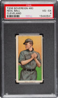 Baseball Cards:Singles (Pre-1930), 1909-11 T206 Sovereign 460 Neal Ball (Cleveland) PSA VG-EX 4 - Pop Four, One Higher for Brand. ...