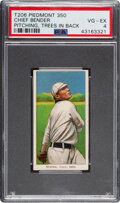 Baseball Cards:Singles (Pre-1930), 1909-11 T206 Piedmont 350 Chief Bender (Trees In Background) PSA VG-EX 4. ...