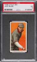 Baseball Cards:Singles (Pre-1930), 1909-11 T206 Cycle 350 Jack Bliss PSA EX 5 - Pop One, Only Two Higher for Brand. ...