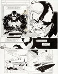 Original Comic Art:Story Page, Ron Lim, Jim Sanders, and Fred Fredericks Avengers: Death Trap, The Vault Story Page 6 Origi...