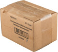 Baseball Cards:Unopened Packs/Display Boxes, 2013 Topps Five Star Baseball Factory Sealed Case With Four Boxes. ...