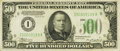Fr. 2201-I $500 1934 Dark Green Seal Federal Reserve Note. PMG Extremely Fine 40 EPQ
