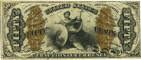 Fr. 1365 50¢ Third Issue Justice PMG Choice Uncirculated 63 EPQ