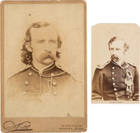 George Armstrong Custer: Cabinet Card and Carte-de-Visite [CDV]