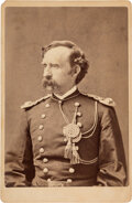 Photography:Cabinet Photos, George Armstrong. Custer: Cabinet Card Presented by Libby Custer....