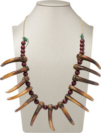 Grizzly Claw Necklace, c. 1850