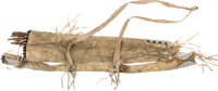 Yankton Beaded Hide Bowcase and Quiver, c. 1875