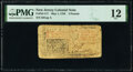Colonial Notes:New Jersey, New Jersey May 1, 1758 £3 PMG Fine 12.. ...