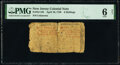 Colonial Notes:New Jersey, New Jersey April 10, 1759 6s PMG Good 6 Net.. ...