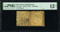Colonial Notes:New Jersey, New Jersey April 12, 1760 12s PMG Fine 12 Net.. ...
