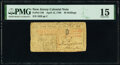 Colonial Notes:New Jersey, New Jersey April 12, 1760 30s PMG Choice Fine 15.. ...