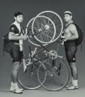 Photographs, Robert Mapplethorpe (American, 1946-1989). Bike Couriers, 1987. Gelatin silver. 8-1/2 x 7-1/2 inches (21.6 x 19.1 cm). S...