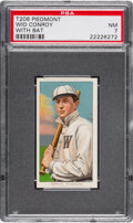 Baseball Cards:Singles (Pre-1930), 1909-11 T206 Piedmont 350 Wid Conroy (With Bat) PSA NM 7 - Pop Two, None Higher for Brand/Series. ...