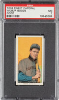 Baseball Cards:Singles (Pre-1930), 1909-11 T206 Sweet Caporal 150/649OP Wilbur Good PSA NM 7 - Pop One, One Higher with Factory Overprint. ...