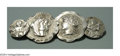 Silver Smalls:Other , AN AMERICAN SILVER HOMERIC MEDALLION BROOCH Mark of Frank ...