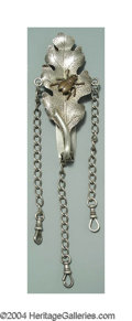 Silver Smalls:Other , AN AMERICAN SILVER AESTHETIC MOVEMENT CHATELAINE