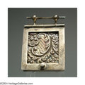 Silver Smalls:Other , AN ENGLISH SILVER MINIATURE COAL BOX