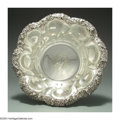 Silver Holloware, American:Bowls, AN AMERICAN SILVER FLORAL BOWL
