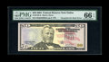 Error Notes:Third Printing on Reverse, Fr. 2128-K $50 2004 Federal Reserve Note. PMG Gem Uncirculated 66 EPQ.. ...