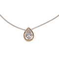 Estate Jewelry:Necklaces, Diamond, Gold, Silver Necklace. ...