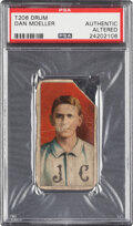 Baseball Cards:Singles (Pre-1930), 1909-11 T206 Drum Dan Moeller PSA Authentic - The Only Confirmed PSA-Graded Example! ...