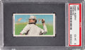 Baseball Cards:Singles (Pre-1930), 1909-11 T206 Sweet Caporal 150 Danny Murphy (Throwing) PSA EX-MT 6 - Pop Two, None Higher for Brand/Series. ...