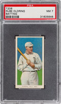 Baseball Cards:Singles (Pre-1930), 1909-11 T206 Piedmont 350-460/25 Rube Oldring (Batting) PSA NM 7 - Only One Higher with Brand/Series/Factory. ...