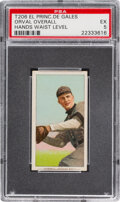 Baseball Cards:Singles (Pre-1930), 1909-11 T206 El Principe De Gales Orval Overall (Hands Waist Level) PSA EX 5 - Only One Higher for Brand. ...