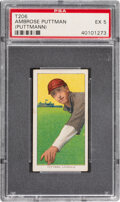 Baseball Cards:Singles (Pre-1930), 1909-11 T206 Sweet Caporal 350/30 Ambrose Puttmann PSA EX 5 - Pop One, None Higher for Brand. ...