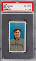 Baseball Cards:Singles (Pre-1930), 1909-11 T206 Sweet Caporal 350/30 Lee Quillin PSA EX-MT 6 - Pop One, One Higher for Brand. ...