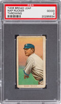 Baseball Cards:Singles (Pre-1930), 1909-11 T206 Broad Leaf 460 Nap Rucker (Throwing) PSA Good 2 - Only Two Confirmed PSA-Graded Examples! ...