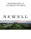 Movie/TV Memorabilia:Autographs and Signed Items, Sewell Staycation at Four Seasons Las Colinas...