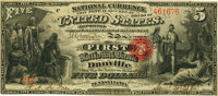 Danville, PA - $5 Original Fr. 394a The First National Bank Ch. # 325 PMG Very Fine 30